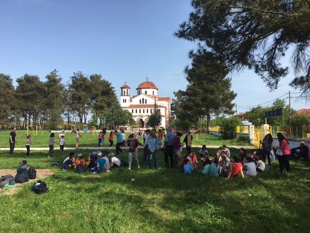 Παιχνίδι και χαρά υπό την σκέπη της Αγίας Ακυλίνας